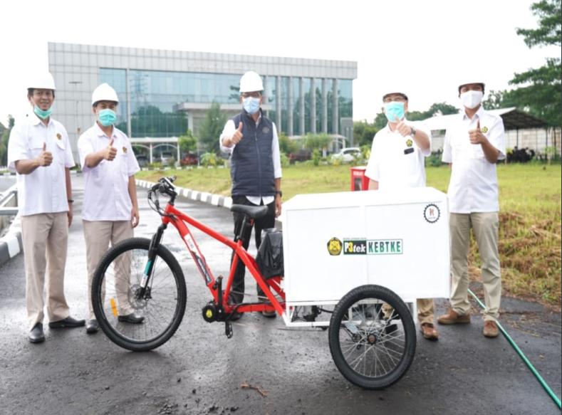 Rancang Bangun Sepeda Listrik Multiguna Yang Menggunakan Teknologi Pedal Assist